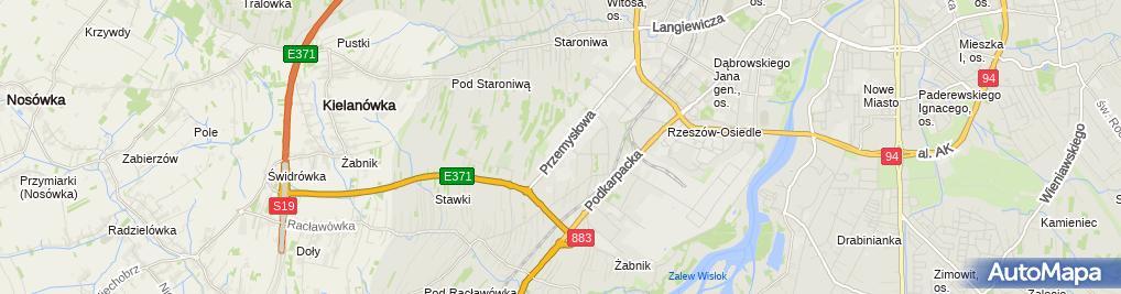 Zdjęcie satelitarne Firma Handlowo Usługowa