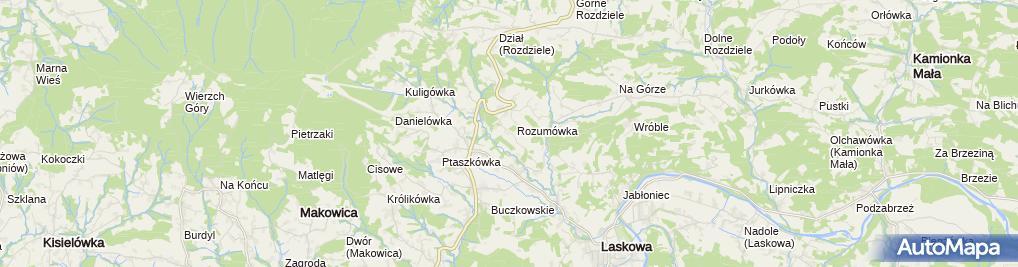 Zdjęcie satelitarne Firma Instal-Max Frączek Patryk