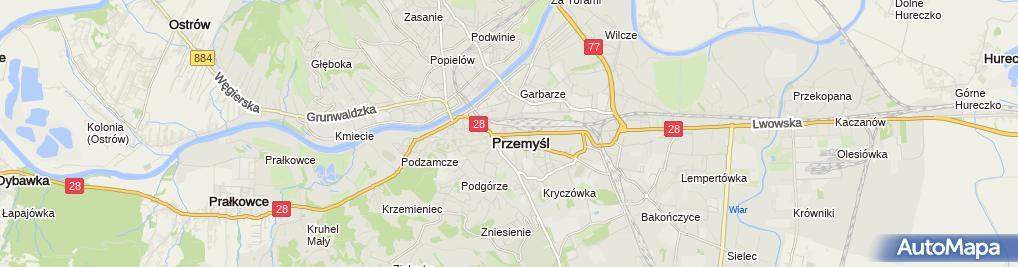 Zdjęcie satelitarne Firma Komputerowa Infores II G Polański M Bodzioch