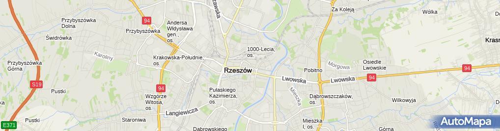 Zdjęcie satelitarne Firma Kryko Krystyna Kozak Mariusz Kozak