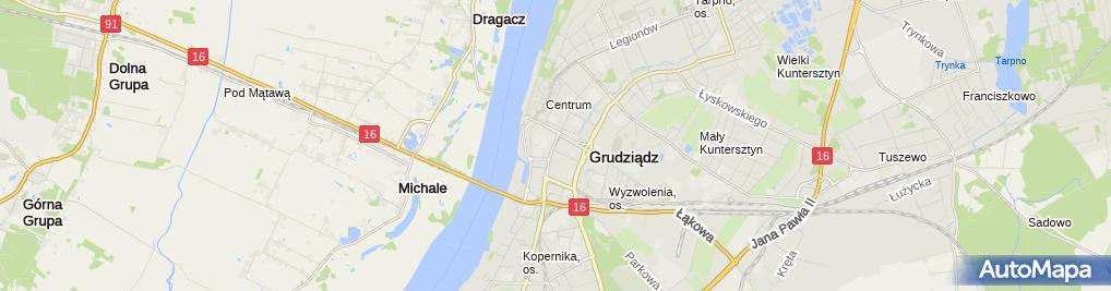 Zdjęcie satelitarne Firma Maluszek