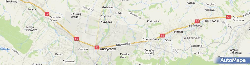 Zdjęcie satelitarne Firma Marketingowa
