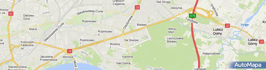 Zdjęcie satelitarne Firma Piekarnicza Krois