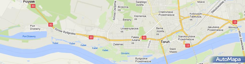 Zdjęcie satelitarne Firma Produkcyjno Handlowa Stan Mar Wójcik Marian Wójcik Ilona