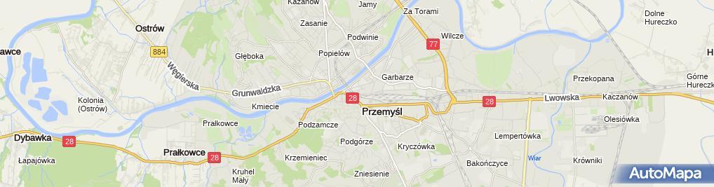 Zdjęcie satelitarne Firma Produkcyjno- Handlowo-Usługowa Artgraf Zbigniew Łysy