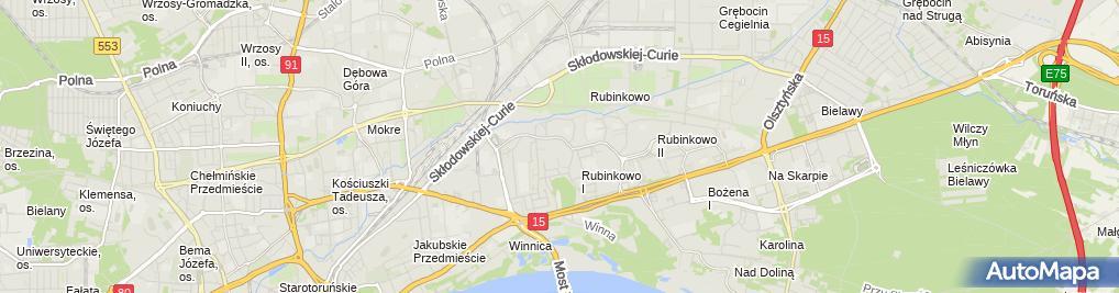 Zdjęcie satelitarne Firma Reklamowa