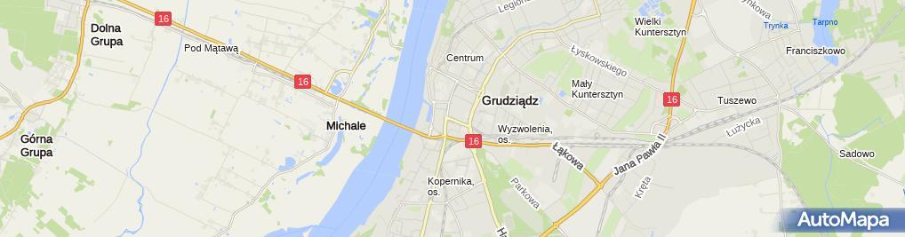 Zdjęcie satelitarne Firma Reklamowo Handlowa Goal Bojarowski Jacek Kuliński Marek