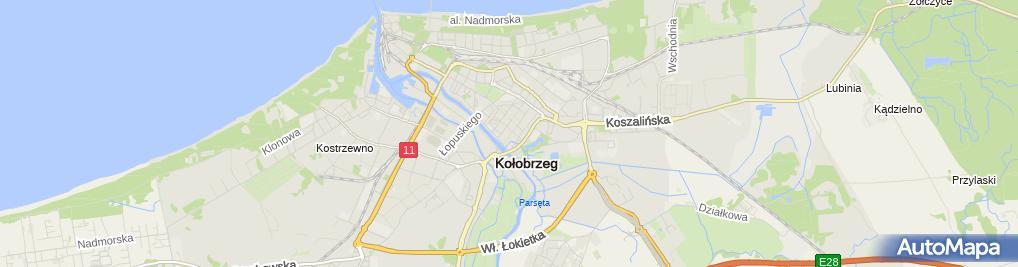 Zdjęcie satelitarne Firma Reklamowo-Handlowa Jerzy Mikołajewski