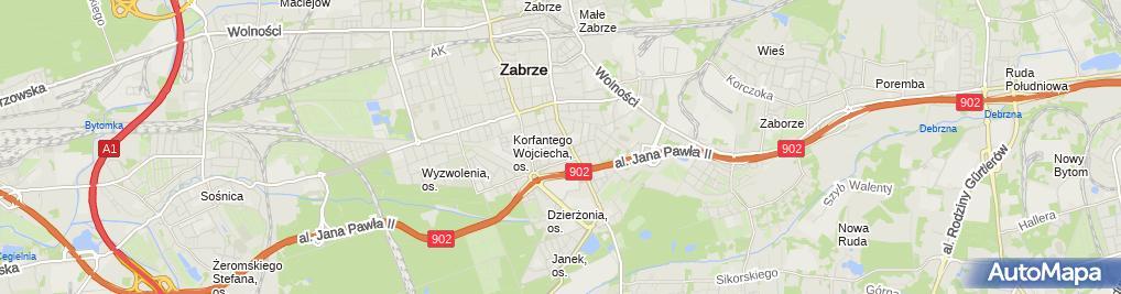 Zdjęcie satelitarne Firma Transportowa Sławomir Szmidt
