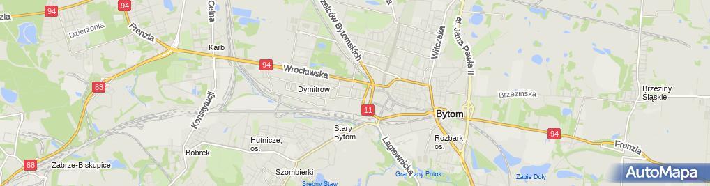 Zdjęcie satelitarne Firma Usługowa Anna- Protetyka Stomatologiczna Świder Tomasz