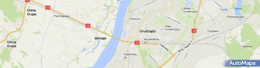 Zdjęcie satelitarne Firma Usługowa Auto - Lift Piotr Wiśniewski