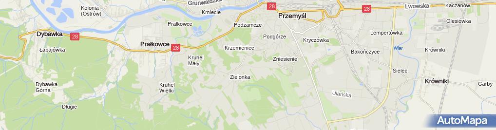 """Zdjęcie satelitarne Firma Usługowa """"Hydraulik"""" Piotr Śliwa"""