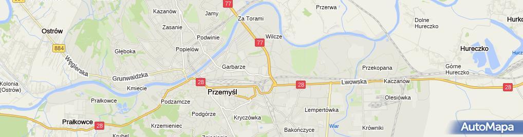 Zdjęcie satelitarne Firma Usługowa Pośrednik