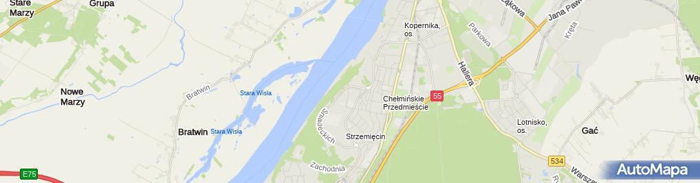 Zdjęcie satelitarne Firma Usługowa Zbigniew Raszliński