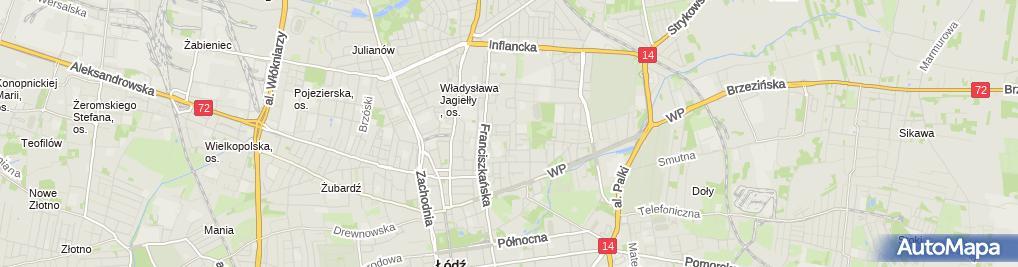 Zdjęcie satelitarne Firma Usługowa