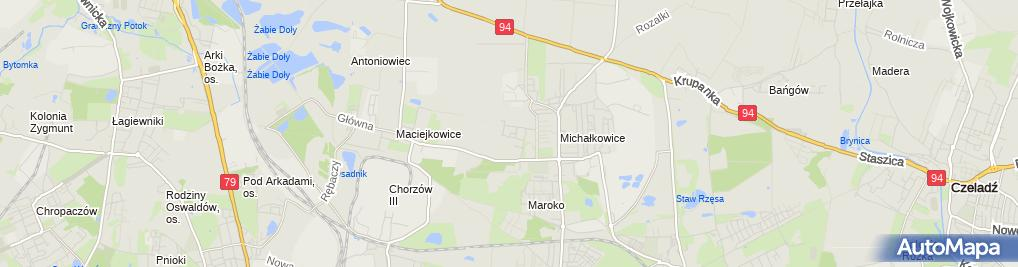 Zdjęcie satelitarne Firma Usługowo-Budowlana Dek-Bud Jacek Mitręga