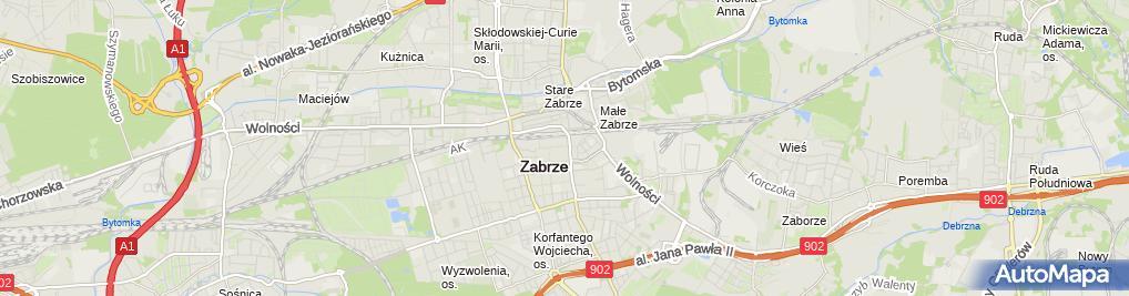 Zdjęcie satelitarne Firma Usługowo-Handlowa Arkadiusz Buła