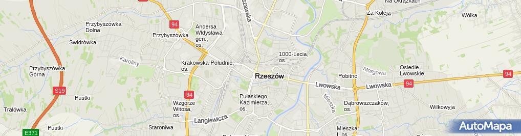 Zdjęcie satelitarne Firma Usługowo-Handlowa Godi Magdalena Mazur