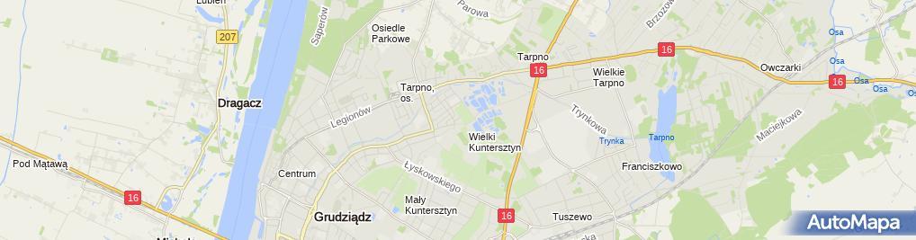 Zdjęcie satelitarne Firma Usługowo Handlowa Lasvegas