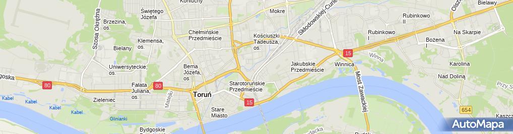 Zdjęcie satelitarne Firma Usługowo Handlowa Mikro