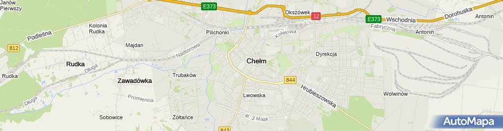 Zdjęcie satelitarne Firma Usługowo Handlowa Tam