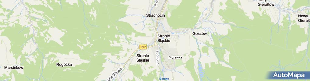 Zdjęcie satelitarne Firma Usługowo Turystyczna As
