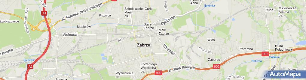 Zdjęcie satelitarne Formacja EU Ireneusz Krzyżanowski