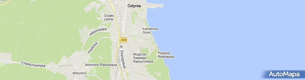 Zdjęcie satelitarne Forten