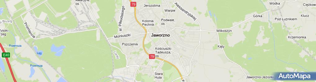 Zdjęcie satelitarne Frączak Teresa Frączak
