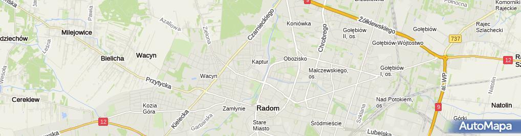 Zdjęcie satelitarne Fundacja Dobry Duszek