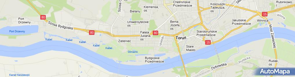 Zdjęcie satelitarne Fundacja im Romana i Marii Dałkowskich
