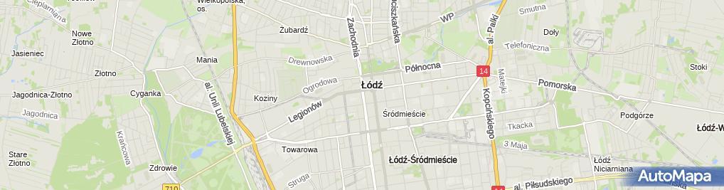 Zdjęcie satelitarne Fundacja Na Rzecz Rozwoju Gospodarczego Włosko Polskiego