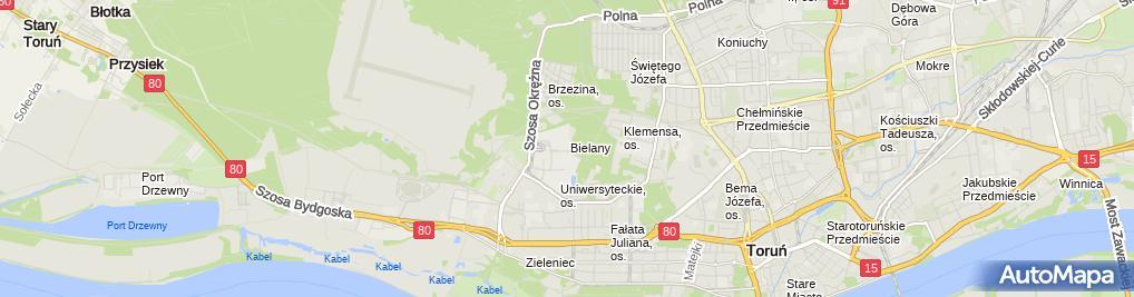 Zdjęcie satelitarne Fundacja Przyjaciół Toruńskiego Wydziału Prawa i Administracji