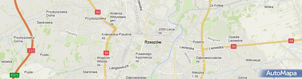 Zdjęcie satelitarne Fundacja Stypendialna Imienia Jana Antoniego Czechnickiego