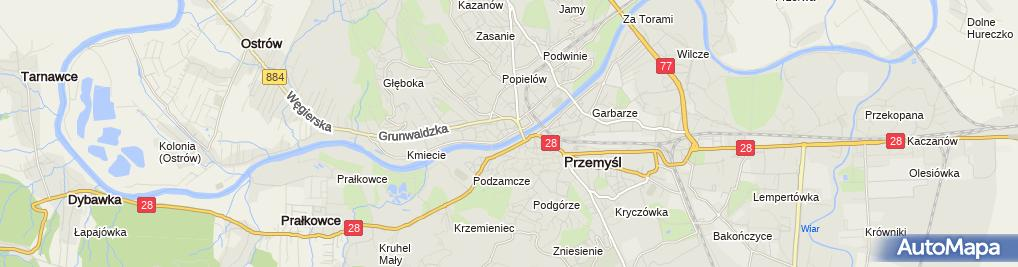 Zdjęcie satelitarne Fundacja Wspierania Rozwoju Ziemi Przemyskiej San