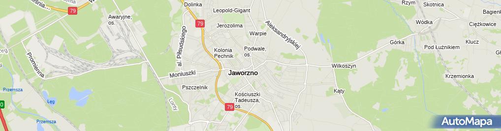 Zdjęcie satelitarne G K i Rafmus Rafał Puz Krzysztof Musiał