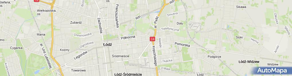 Zdjęcie satelitarne Gabinet Kardiologiczny