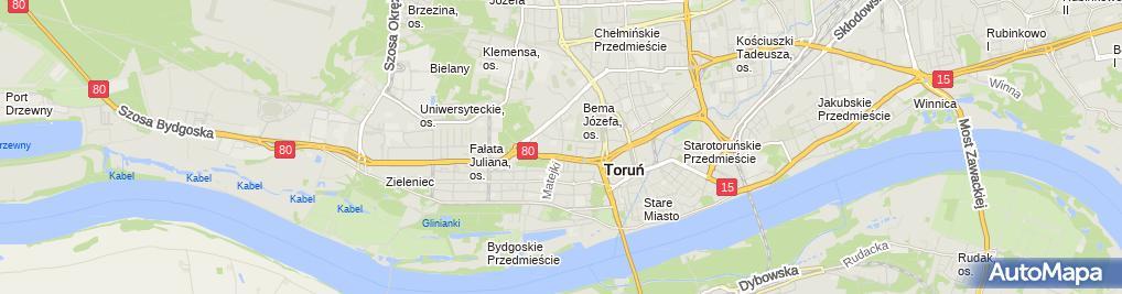 Zdjęcie satelitarne Gabinet Kosmetyczny Euforia