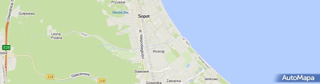 Zdjęcie satelitarne Gabinet Kosmetyczny Krystyna Krystyna Rogowska