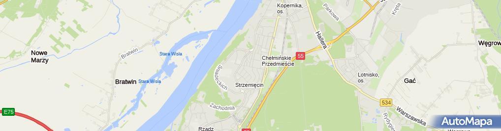 Zdjęcie satelitarne Gabinet Lekarski, Medycyna Ratunkowa, Uprawniony do badań kierow