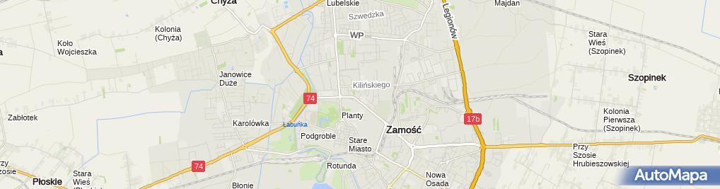 Zdjęcie satelitarne Gabinet Okulistyczny Aldona Kudyk Monika Sobczuk Karkowska