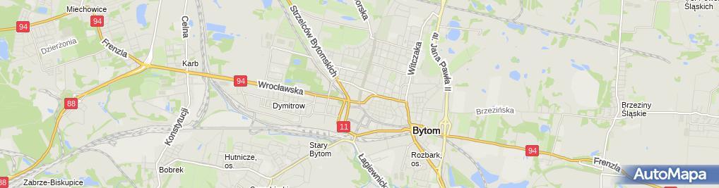 Zdjęcie satelitarne Gabinet Okulistyczny Kielan