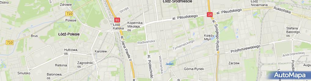 Zdjęcie satelitarne Gabinet Okulistyczny