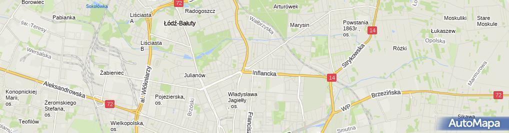 Zdjęcie satelitarne Gabinet Pediatryczny Wizyty Domowe