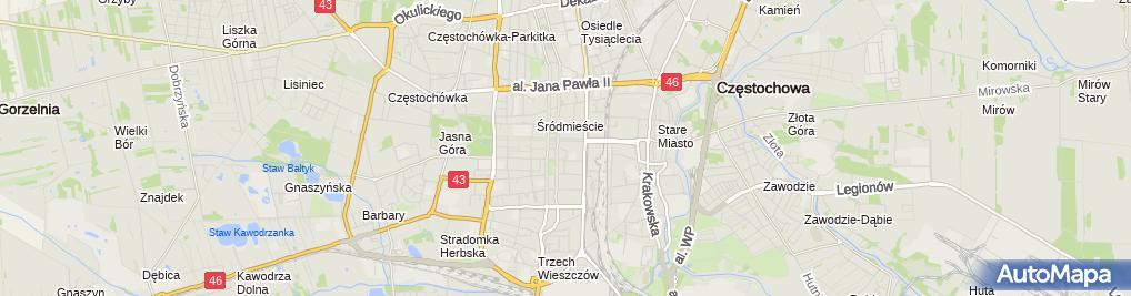 Zdjęcie satelitarne Gabinet Psychologiczny