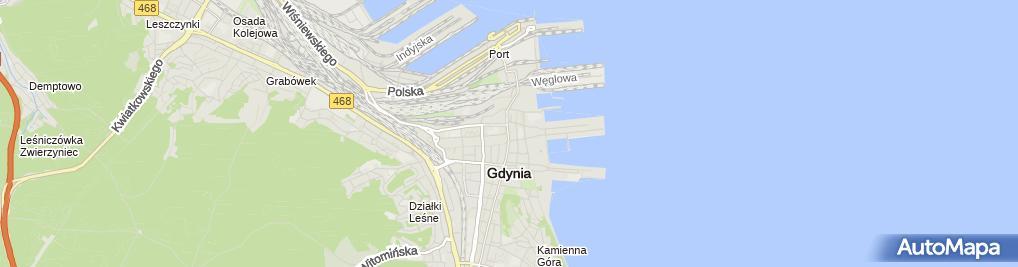 Zdjęcie satelitarne Garda Investment