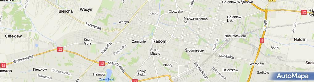 Zdjęcie satelitarne Gawroński Michał Wspólnik: Kriotechnika Innowacyjno-Wdrożeniowa