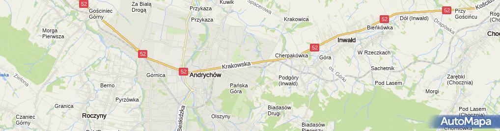 Zdjęcie satelitarne Gaz Pol Polak Krzysztof Niewiara Polak Iwona