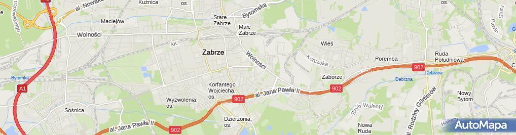 Zdjęcie satelitarne Gazozo