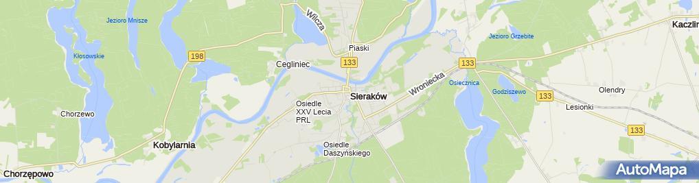 Zdjęcie satelitarne Gminna Spółdzielnia Samopomoc Chłopska